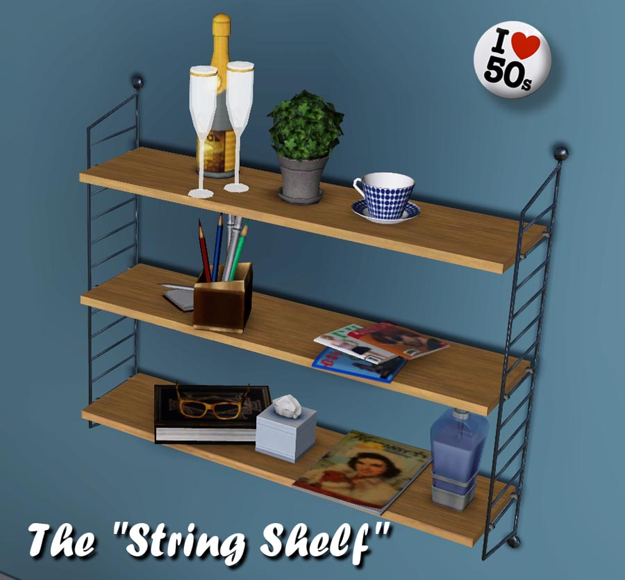 Mod The Sims The String Shelf