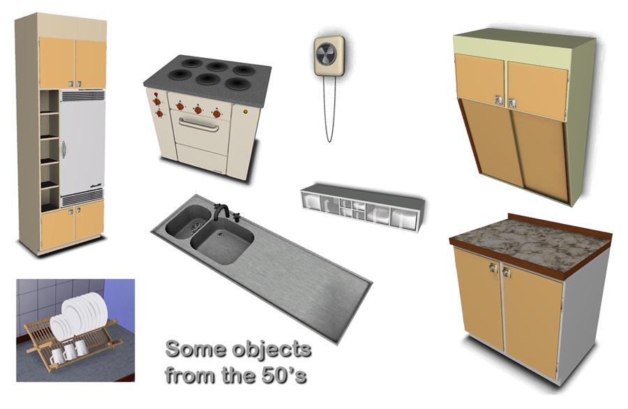 sims download kitchen