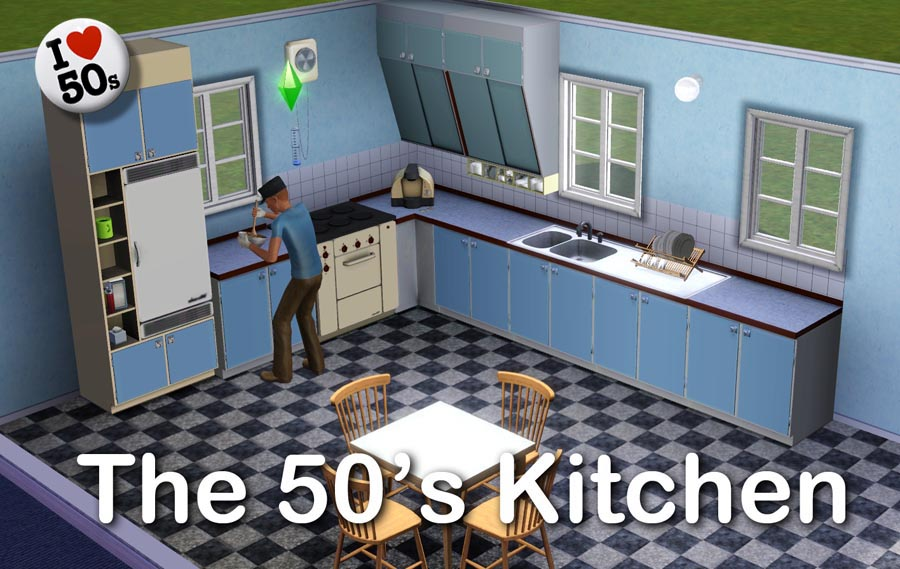 mod the sims   the 50 u0027s kitchen  rh   modthesims info
