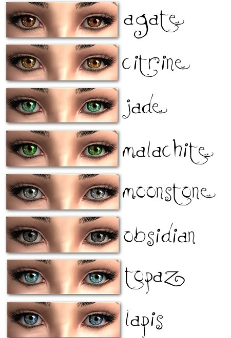 Mod The Sims Mystic Eyes