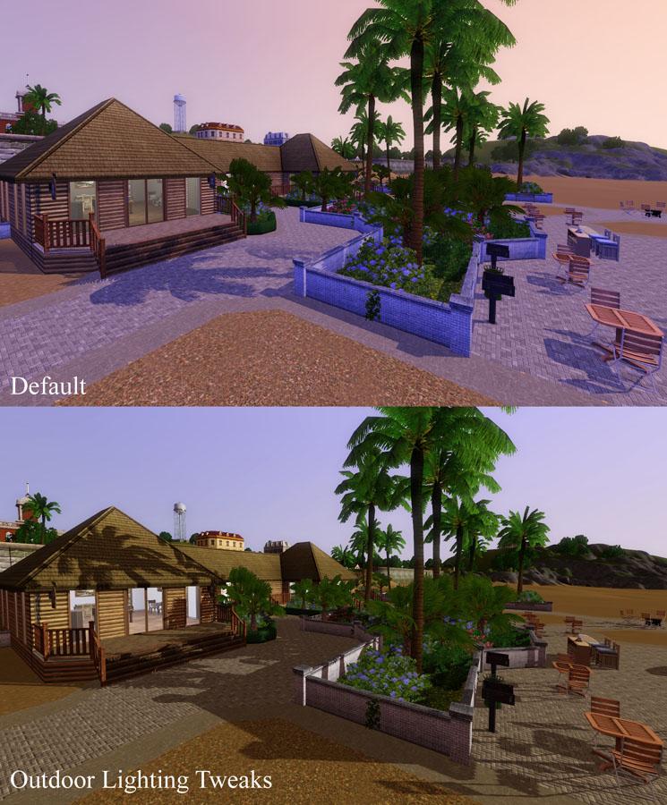 Mod The Sims Outdoor Lighting Tweaks V2 2