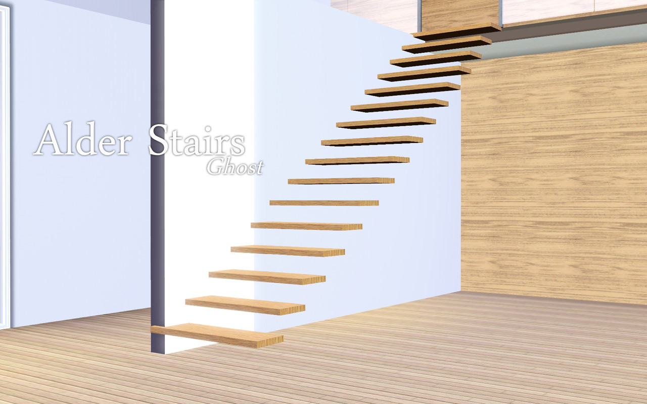 With The Newly Updated Alder Stairs To Make Them All CASTable, I Thought  Itu0027d Be Great To Add A New Set! These Are The Type That You See In Some  Homes ...
