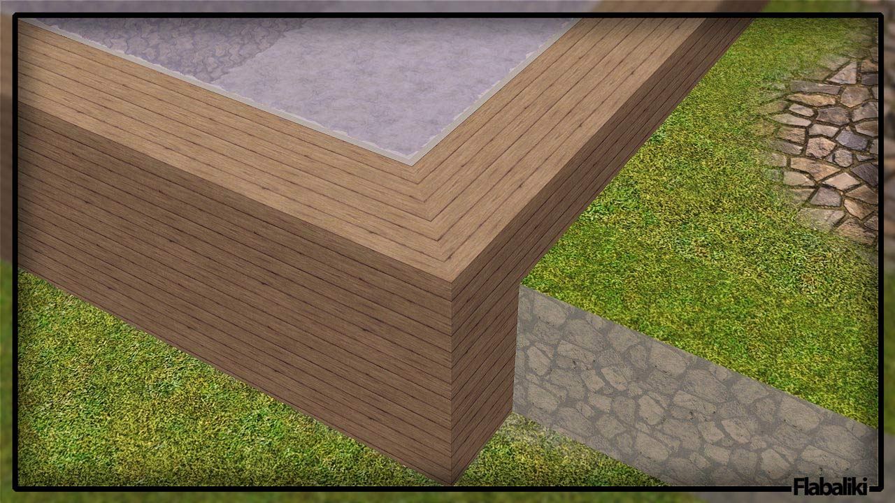 Mod The Sims - Retaining Walls - Upd. 3rd July Sims 1 Walls
