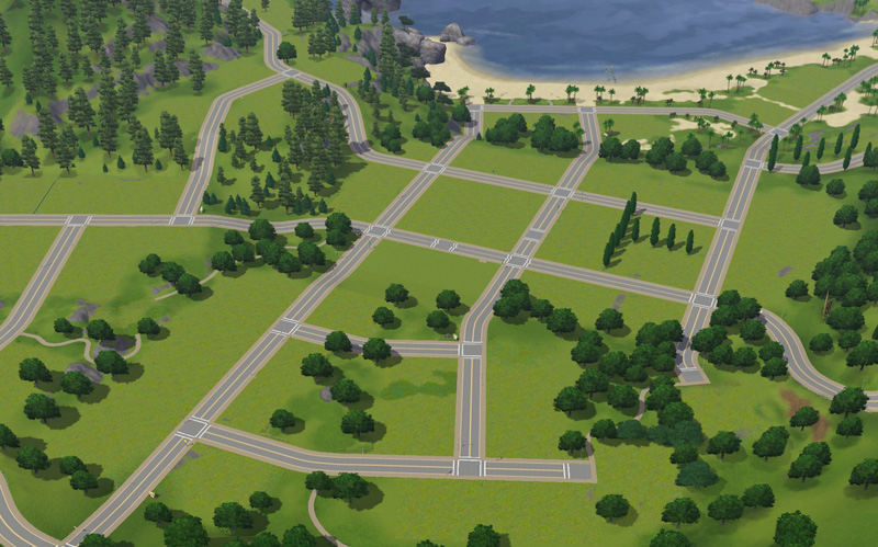 Mod The Sims Sunset Valley Riverview Emptied Obsolete