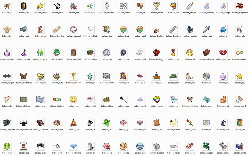 Mod The Sims - 405 Sims 3 Icons