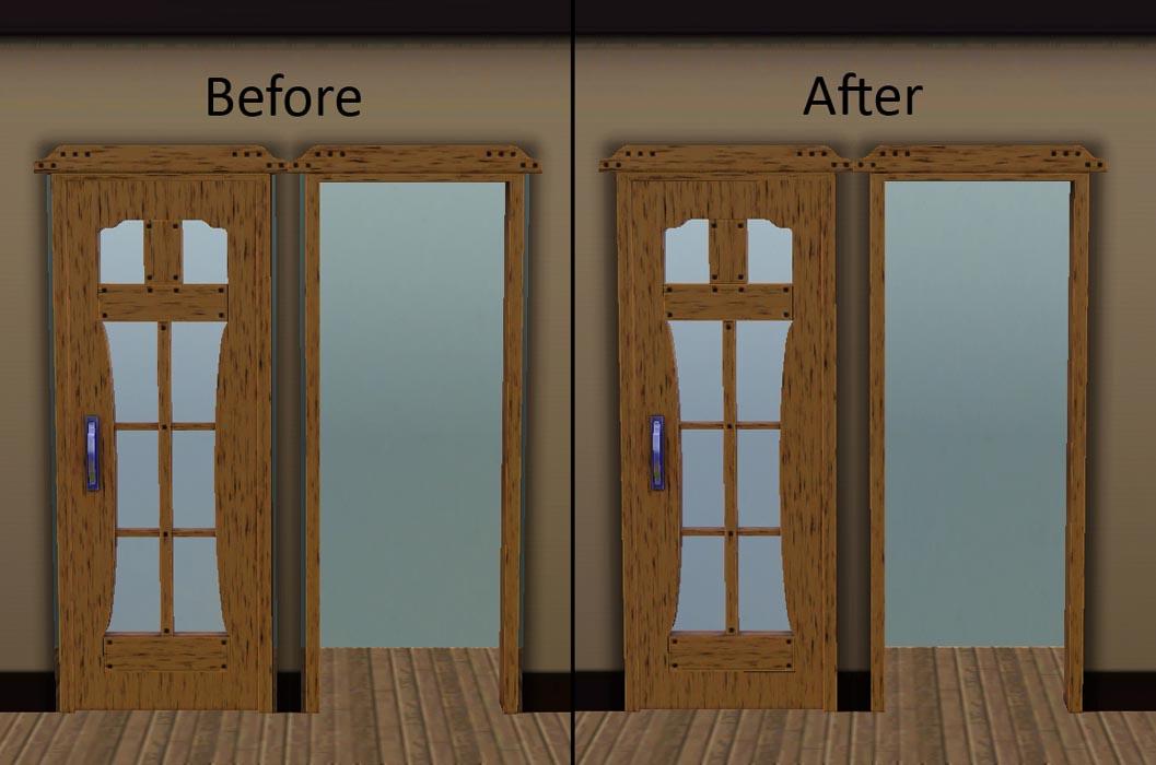 x & Mod The Sims - Door and Window Fix
