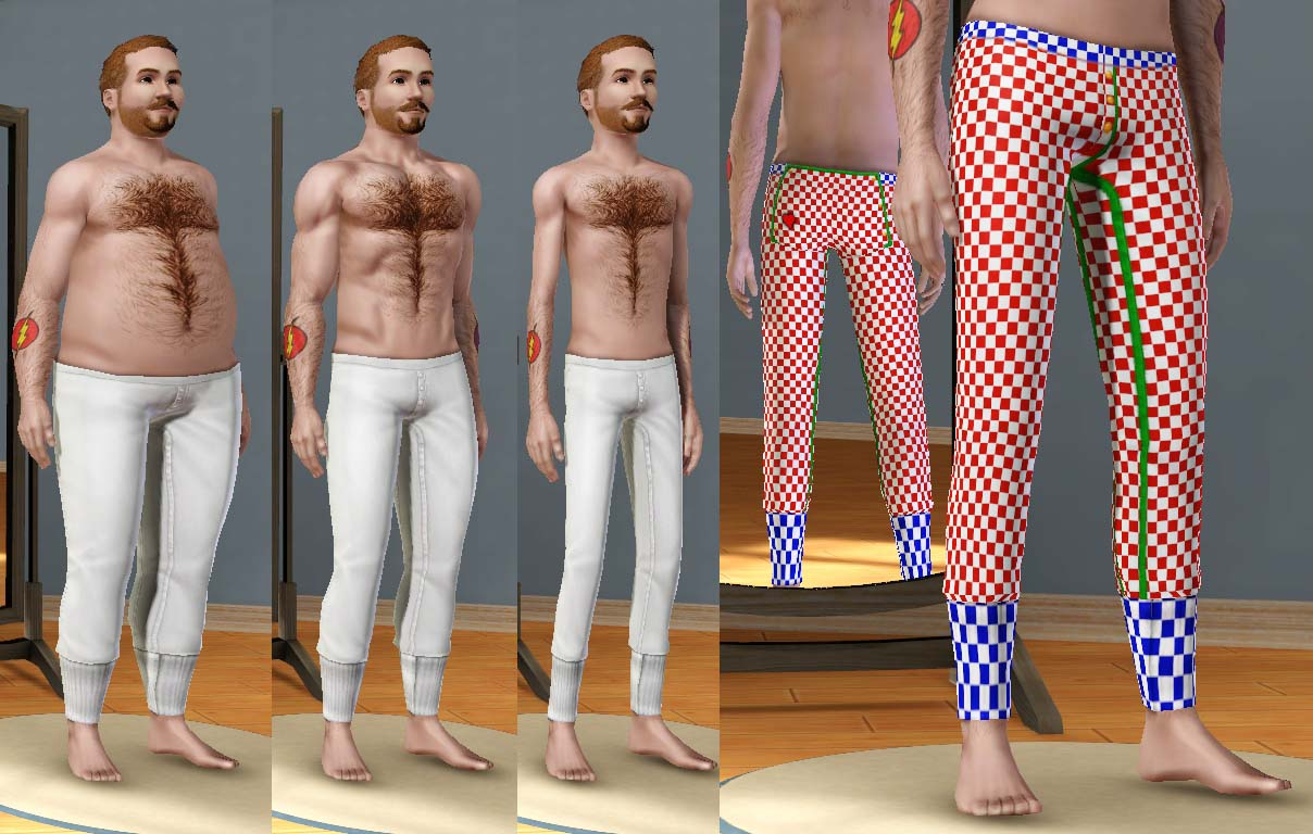 how to change body type in sims 4