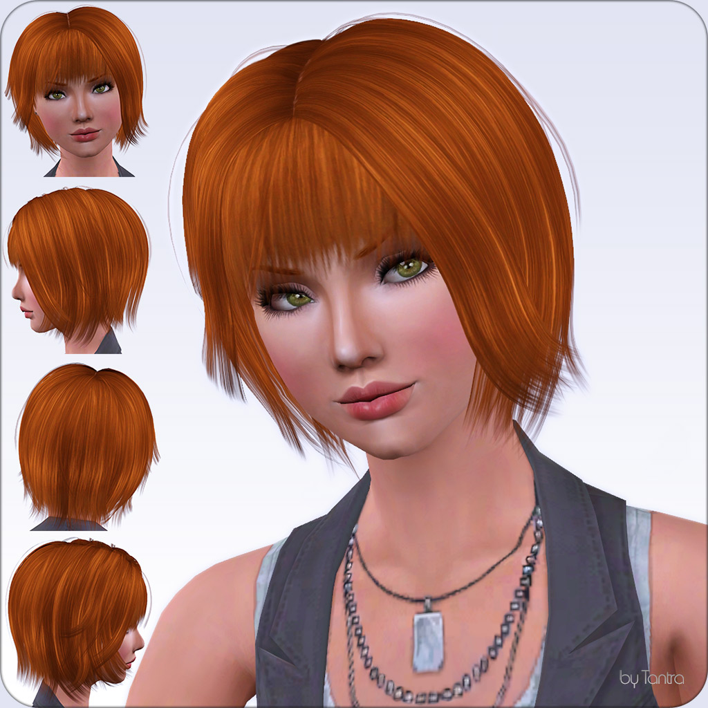 Sims 2 Hairstyles: Female Hair For All Ages