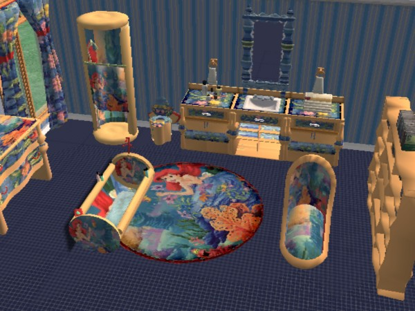 Mod The Sims Modern Bath Little Mermaid