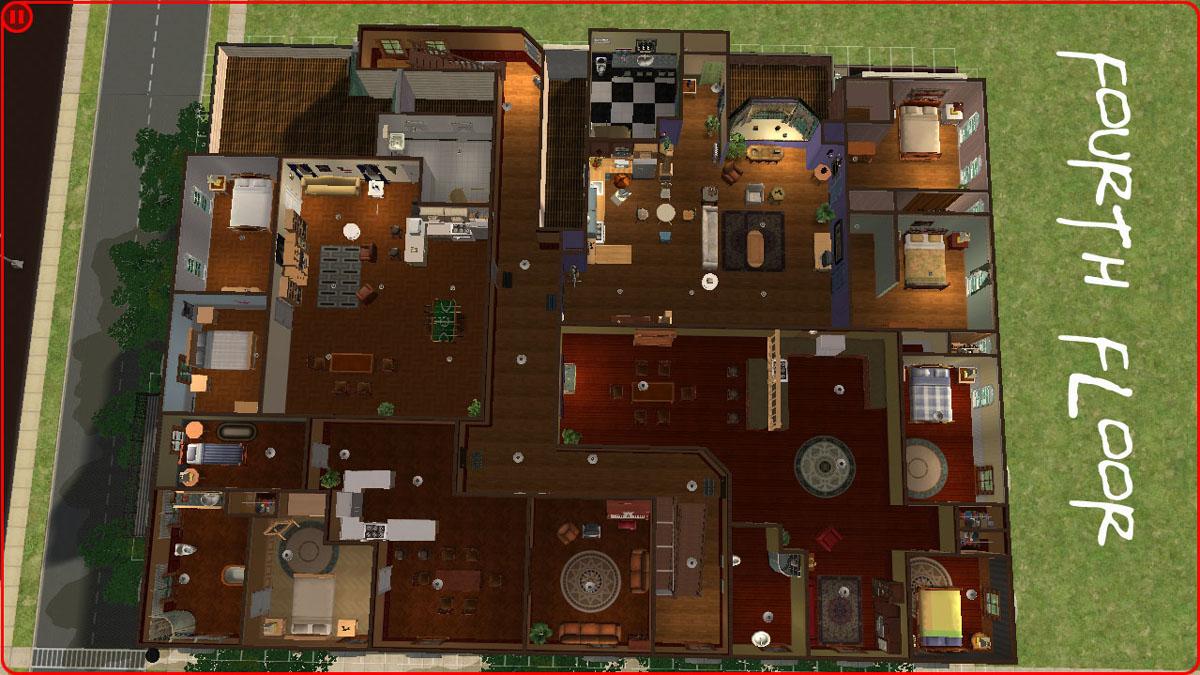 Mod The Sims Friends Apartments 18 Apartment Units