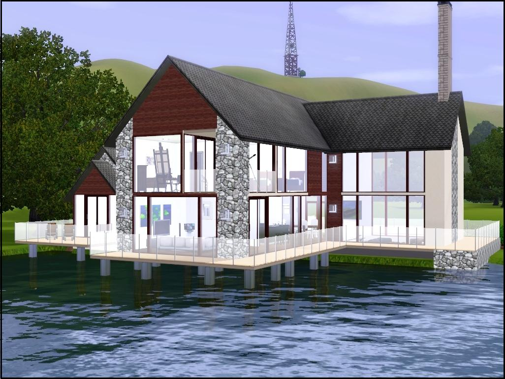 Grand designs scottish loch house house and home design for Grand home designs