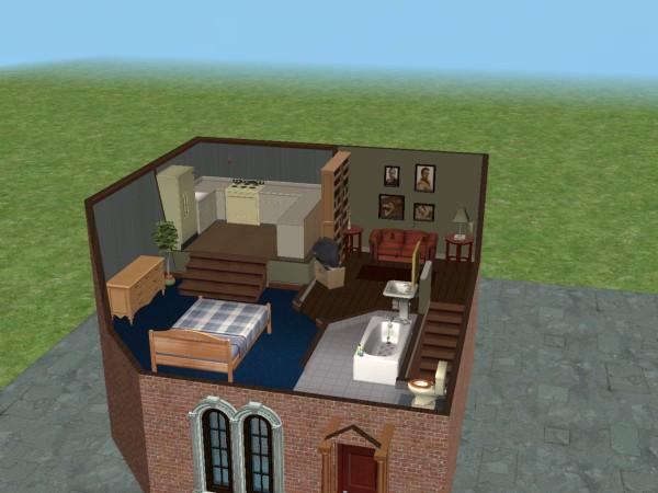 Mod The Sims Bridget Jones Style London Apartment