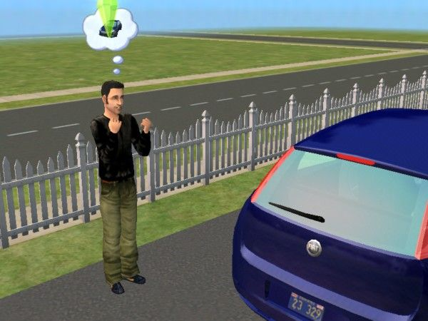 Mod The Sims - Claude Speed (Fido) from GTA3
