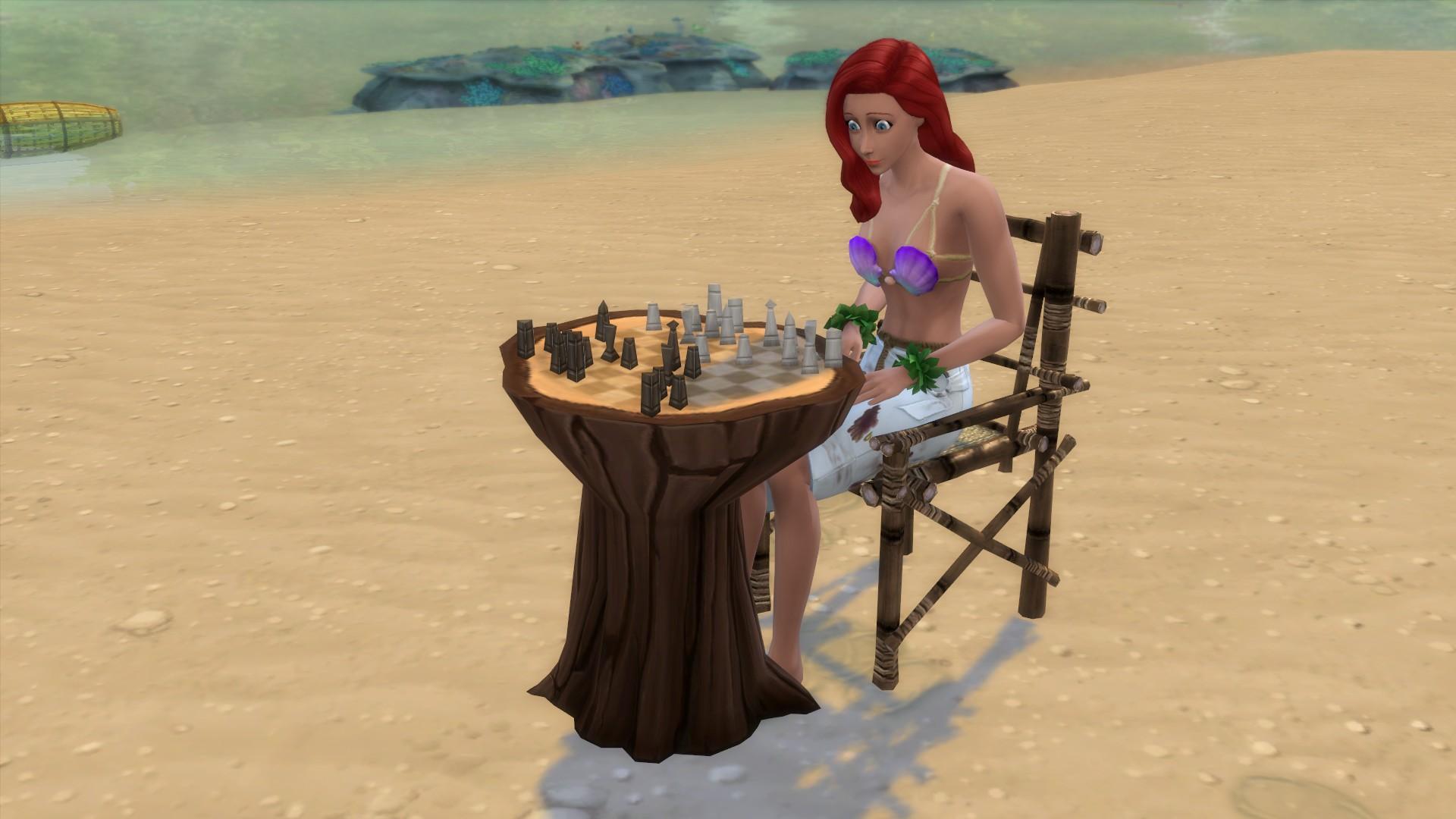 Мод на деревянные шахматы
