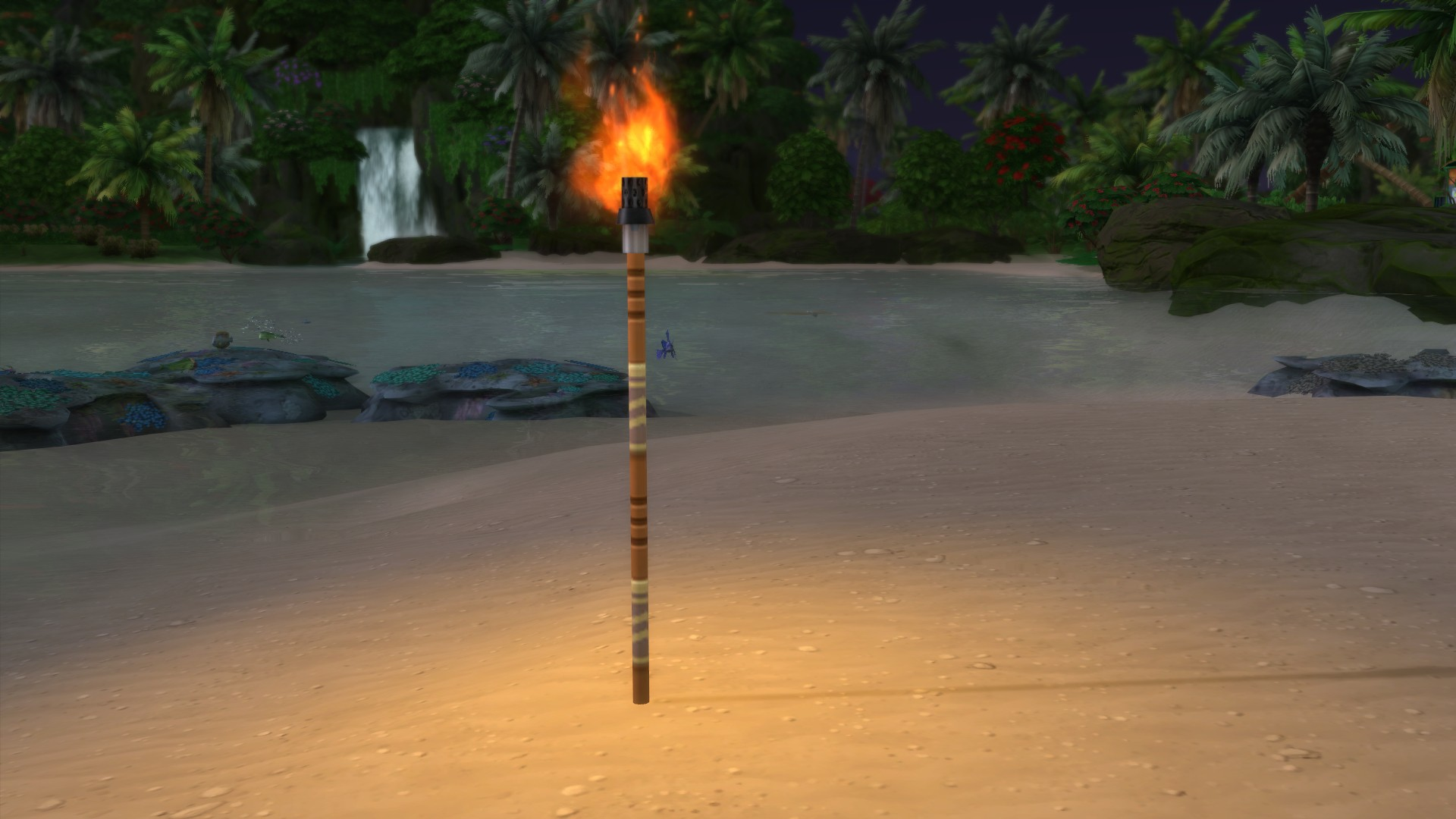 Мод Сулани пляжный факел