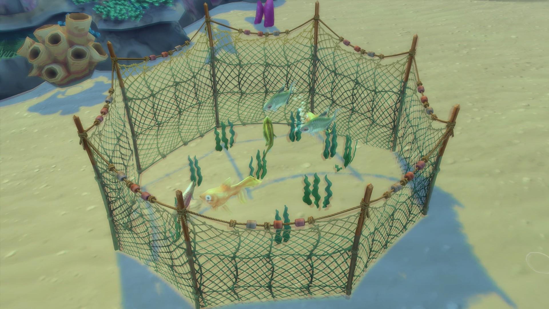 Мод океаническая рыболовная сеть