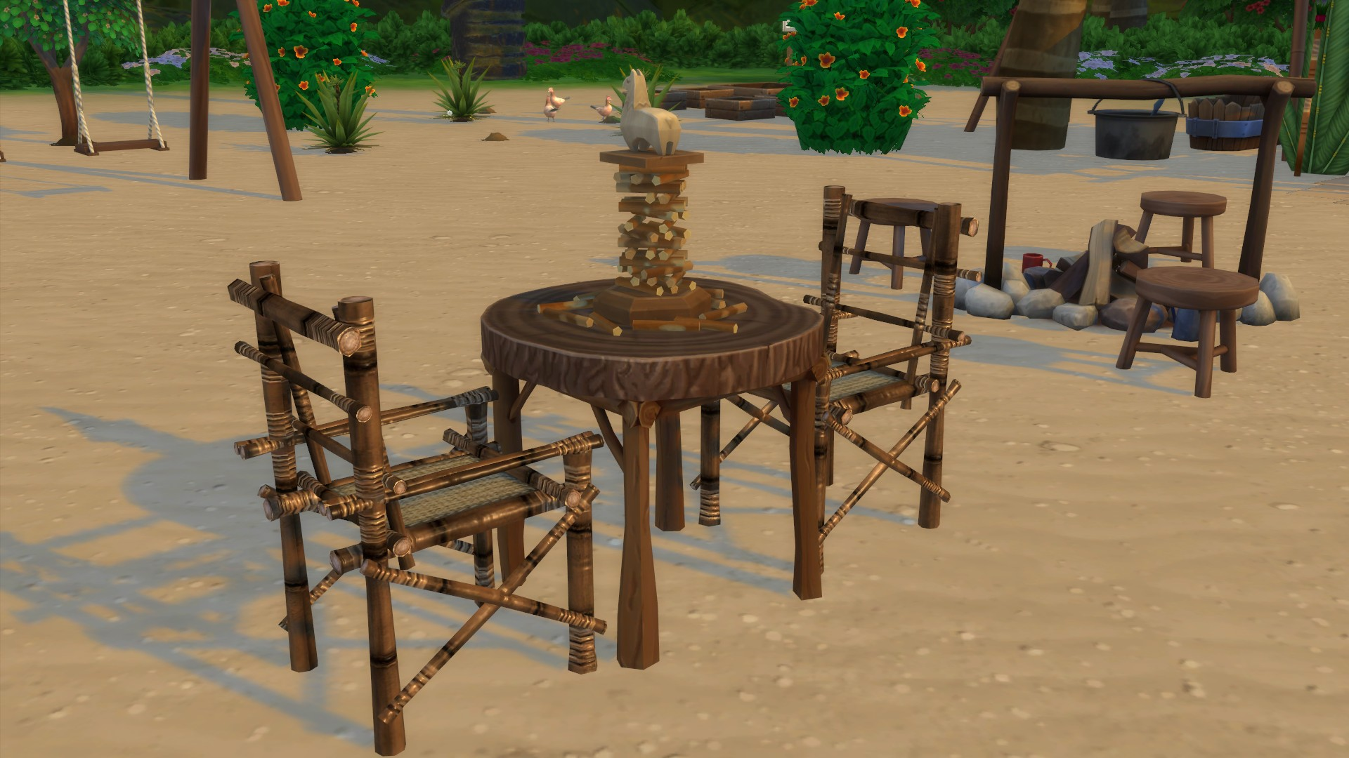 Мод Деревянный игровой стол