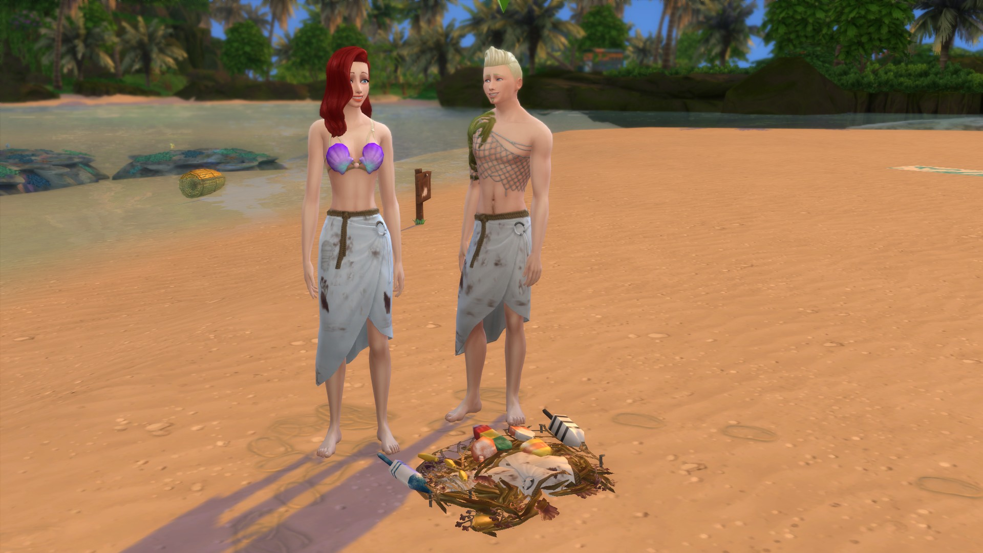 Мод предметы отброшенные морем