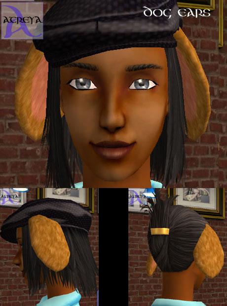 Sims  Cc Dog Ears