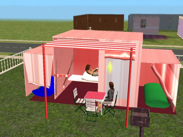 Mod The Sims - New Mesh-Tent