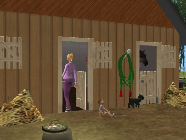Mod The Sims New Mesh Stable Door