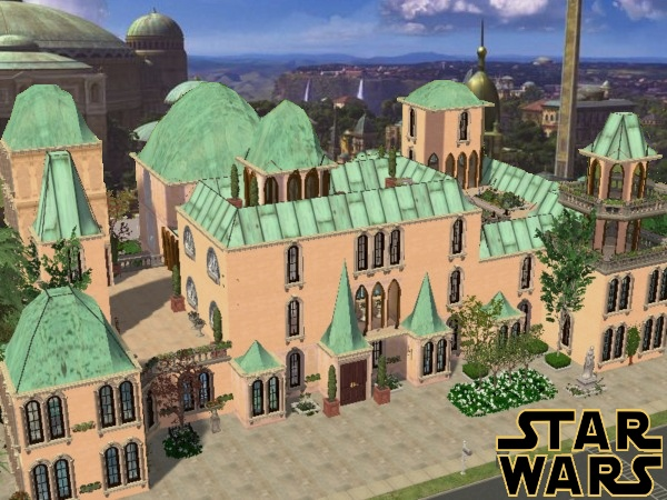Mod The Sims - STAR WARS: An Exclusive Palace In Naboo\'s Capital ...