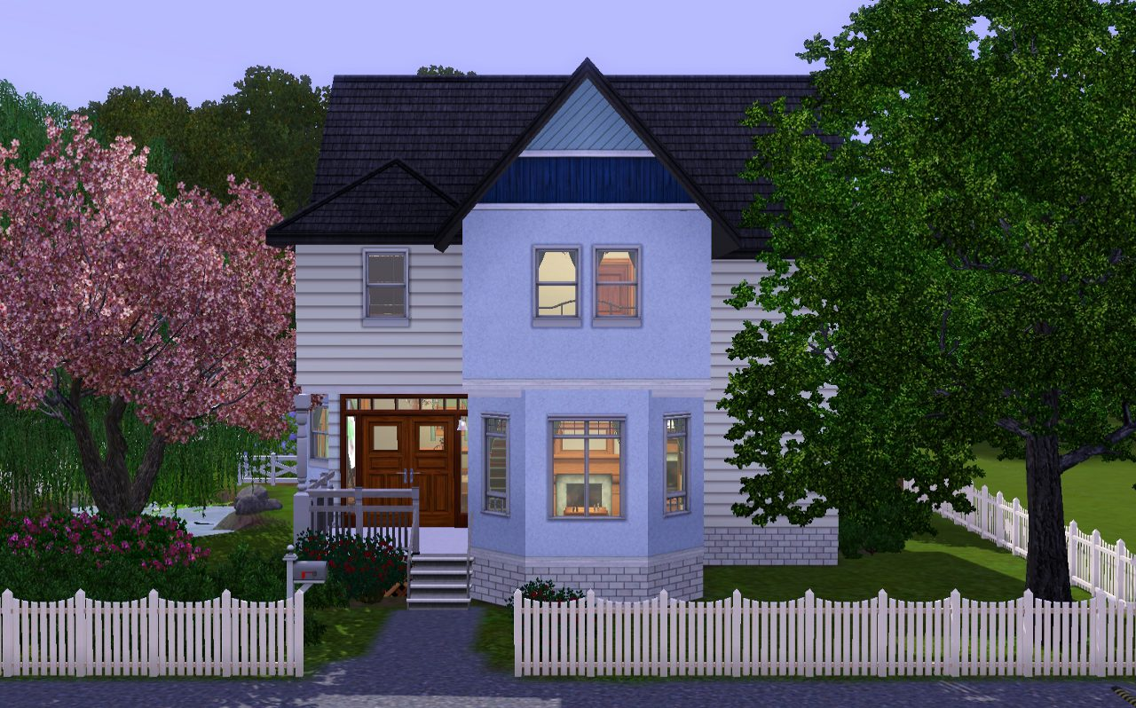 Mod the sims oldie but goodie 4 bedroom home for Sims 3 6 bedroom house