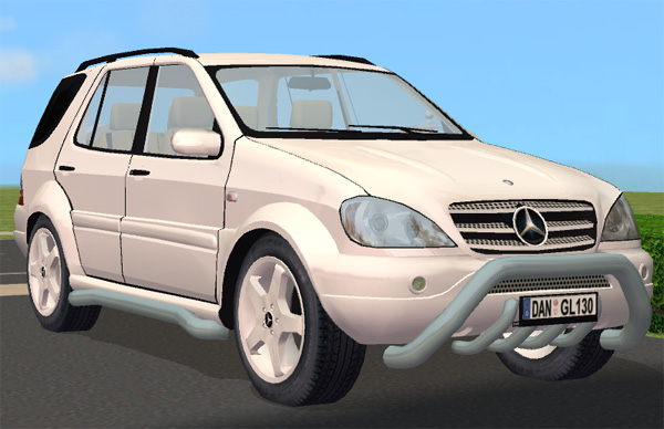 Mod the sims mercedes benz ml55 amg beta4 for Mercedes benz ml55 amg parts