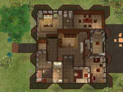 Mod The Sims Bag End A Hobbit Home