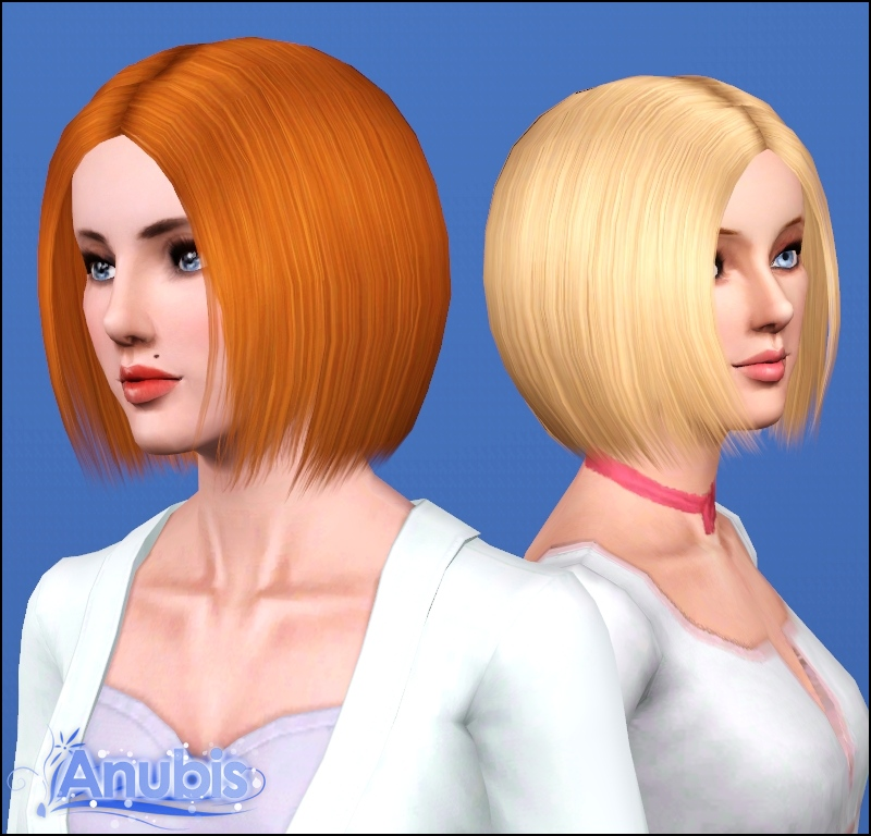 Mod The Sims Stylish Bob Hair Both Genders All Ages