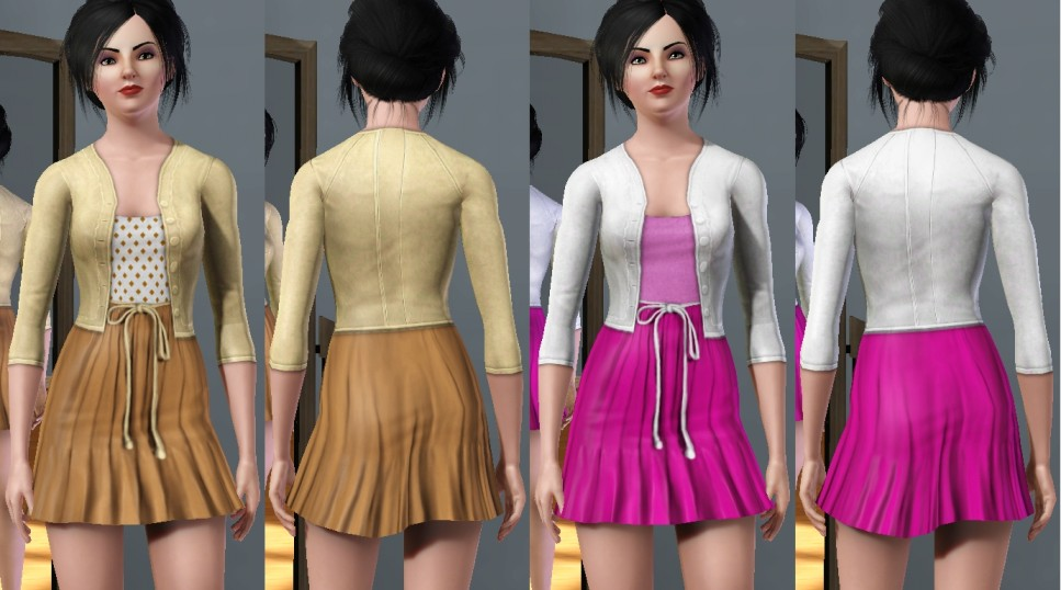 Mod The Sims - Summer Dresses - Two Styles