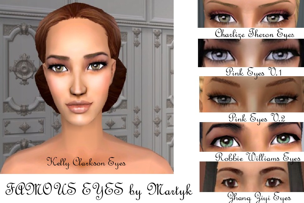 mod the sims famous eyes