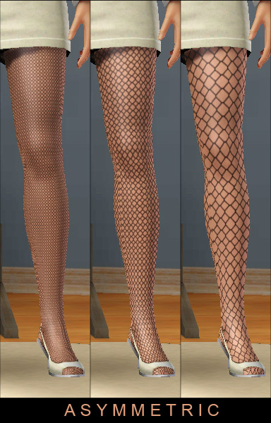 Mod The Sims - Pseudo-fishnet patterns