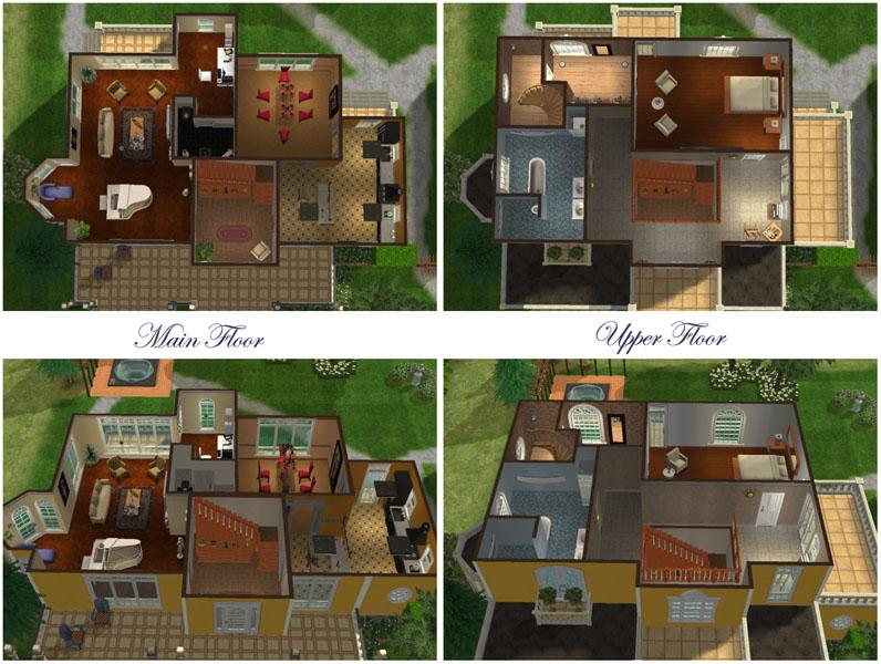 Nice Mod The Sims 4349 Wisteria Lane