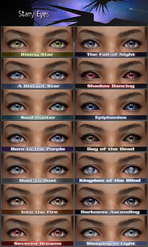 Supernatural Demon Eyes Contacts