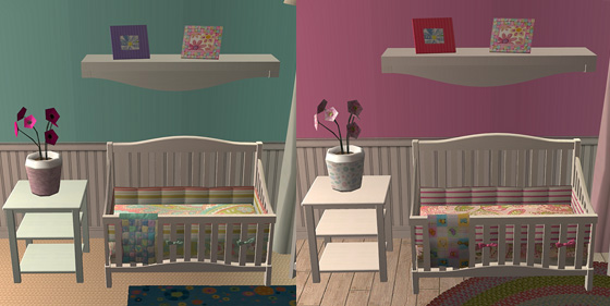 Mod The Sims Sweetdreams Nursery Set
