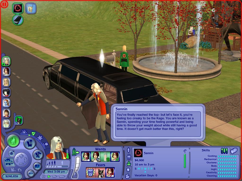 prostitue career in sims 2