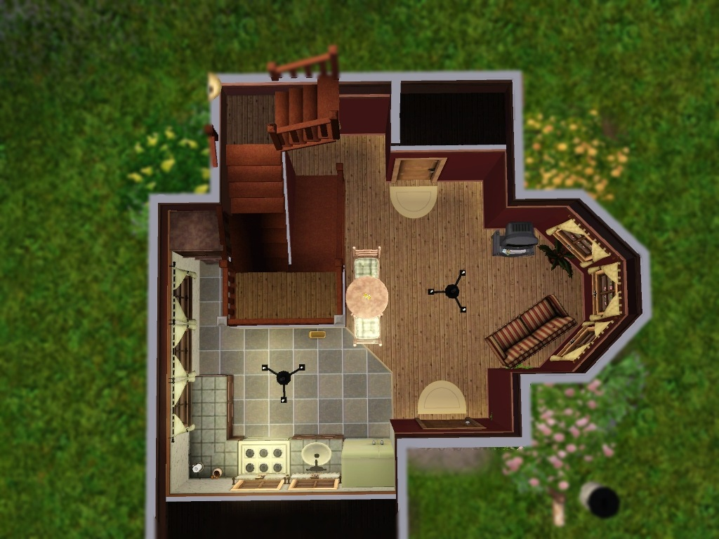 mod the sims das winzig haus 10x10 mini lot. Black Bedroom Furniture Sets. Home Design Ideas