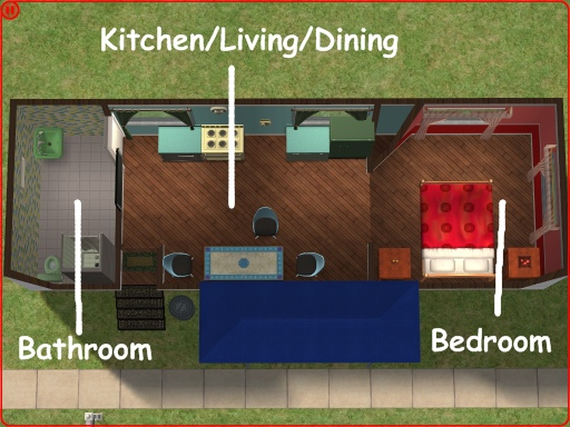 Mod the sims mobile home for your beginning sims - Sims 2 downloads mobel ...