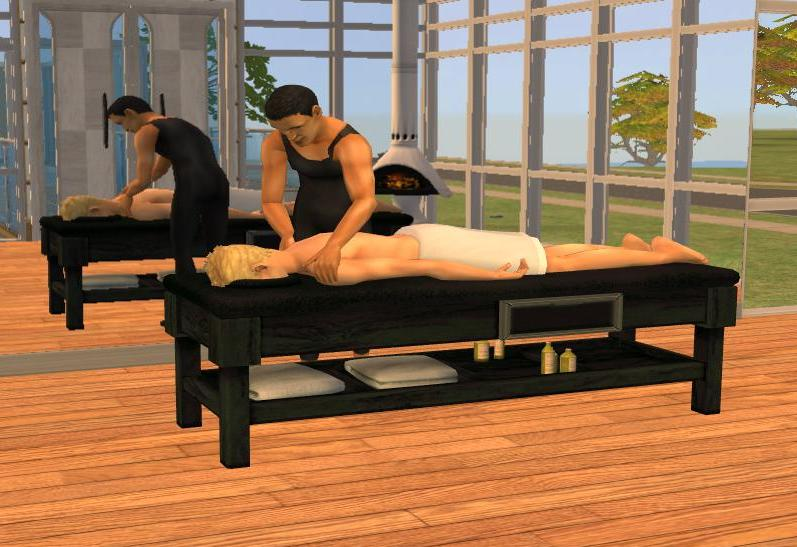sims 4 massage table