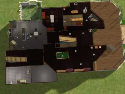 Mod The Sims The Spellman Manor From Sabrina The Teenage Witch Updated 3 22 09