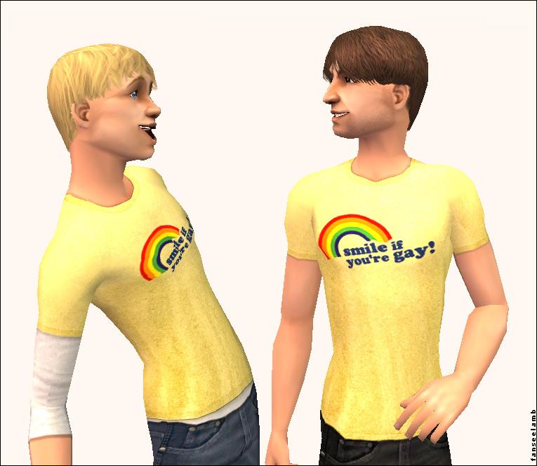 cartoons of gay or lesbians