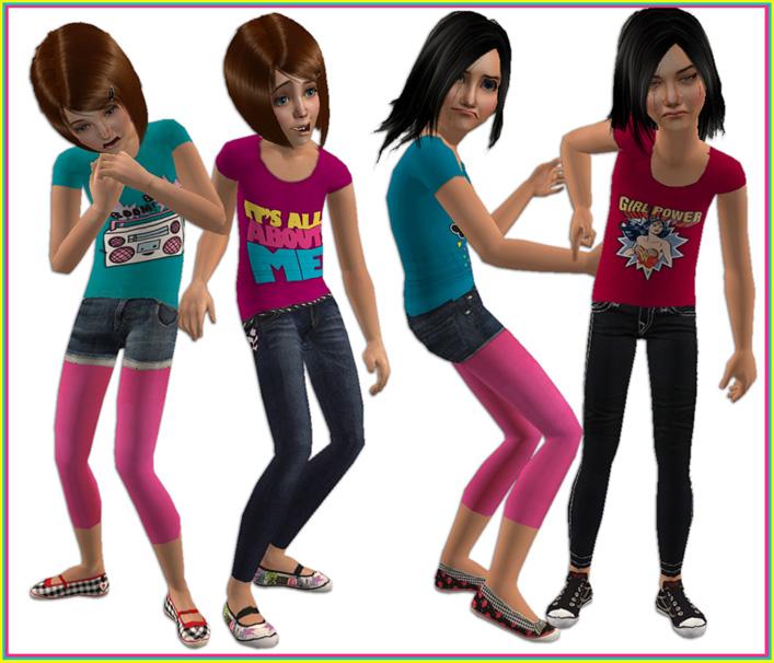 Mod The Sims Fresh Air Little Girls Outfits