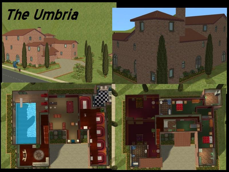 Mod the sims the italian hotels collection for Hotel design umbria