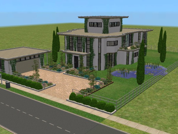 Sims 2 ps2 house plans house and home design for Sims 2 house designs floor plans