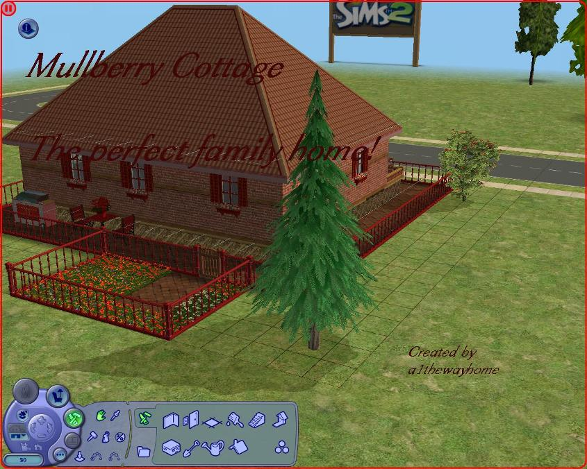 Mod the sims mullberry cottage the perfect family home for Mullberry home