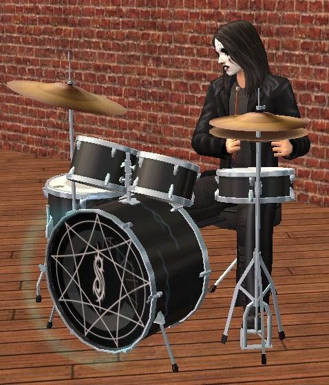 Mod The Sims - 2 sets of Slipknot drums (Updated!)