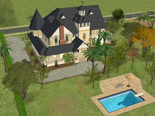 Mod the sims falcon crest Build your house