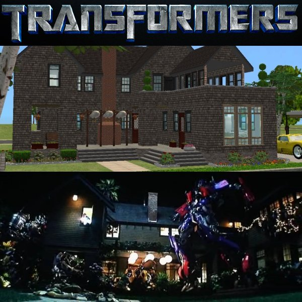Mod The Sims Transformers Movie The Witwicky House