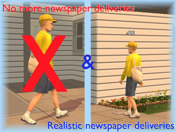 2 Newspaper Delivery Hacks No More Realism